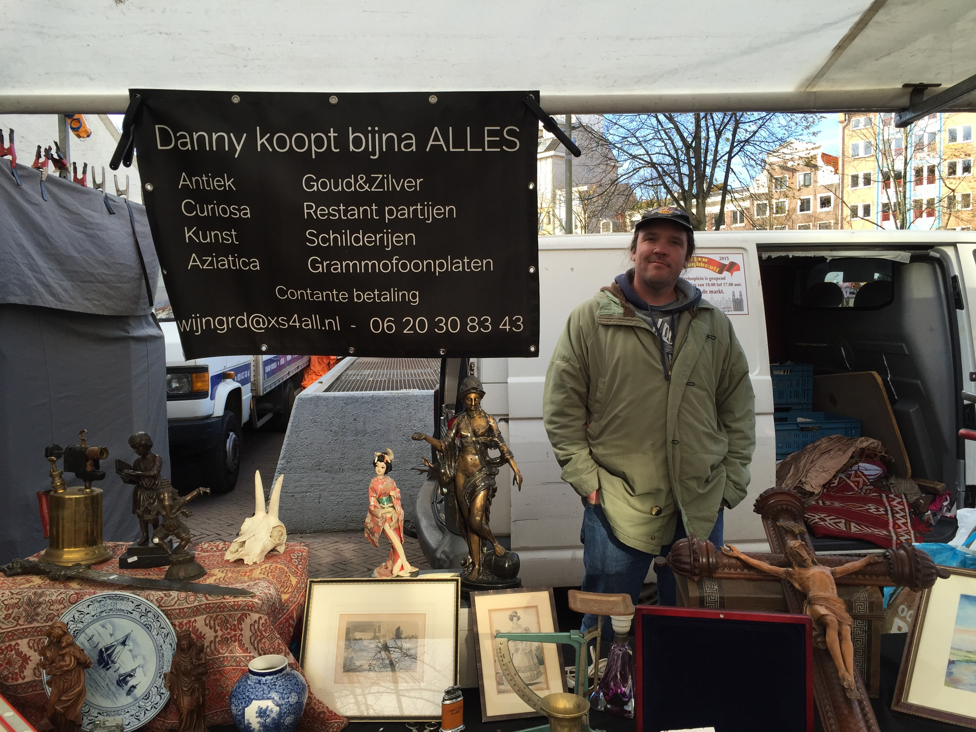 Danny Wijngaard – purchais and sales Amsterdam