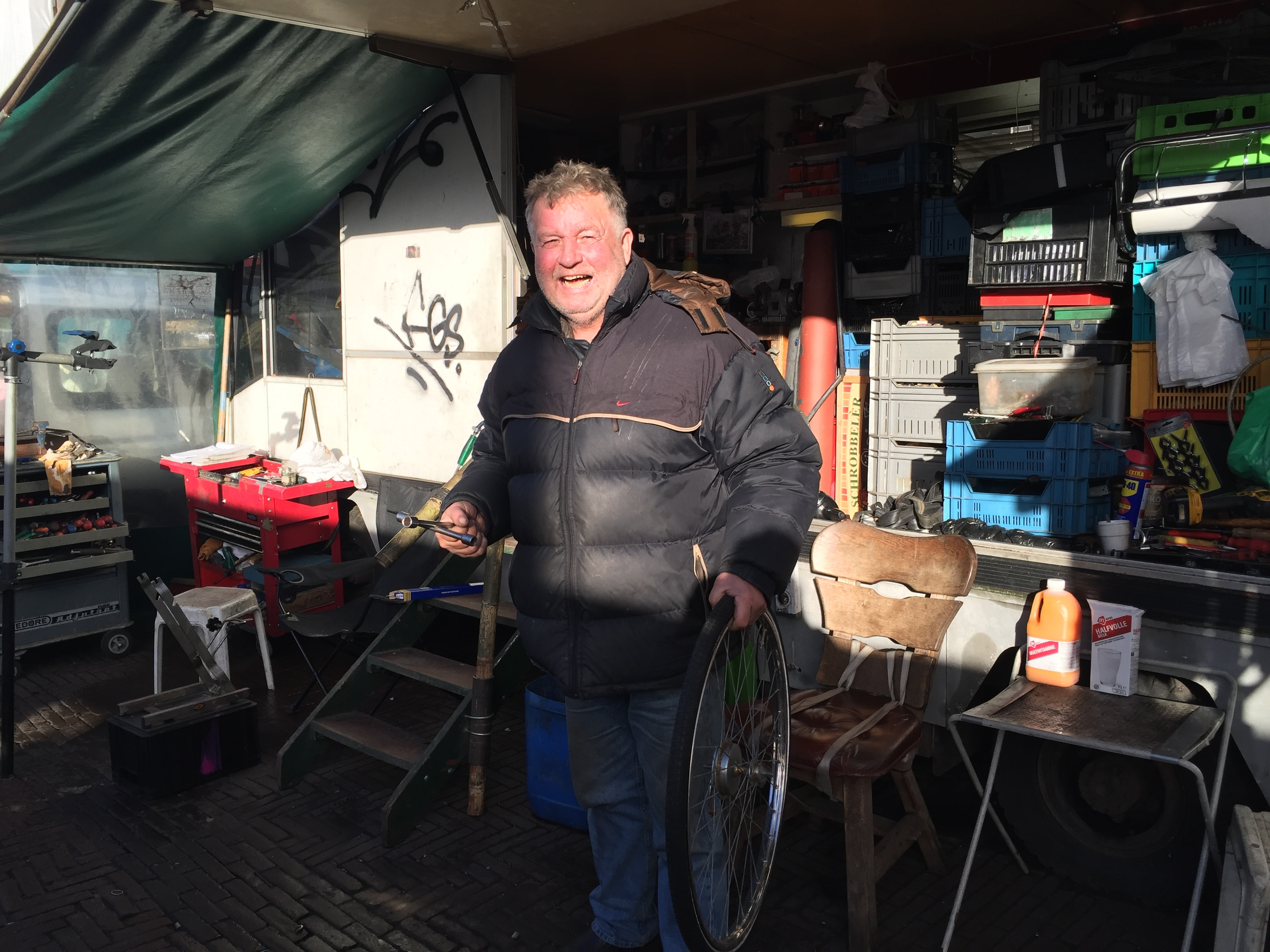 Bob de Kater – bicycles and bicycles repairs