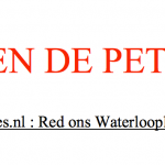 Red ons Waterlooplein